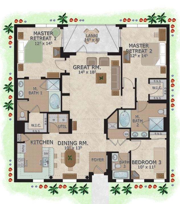 Peachy 3 Bedroom Suites In Orlando The Berkley Orlando Download Free Architecture Designs Xaembritishbridgeorg